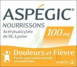ASPEGIC NOURRISSONS 100 mg, poudre pour solution buvable en sachet-dose à Trelissac