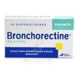 BRONCHORECTINE AU CITRAL ENFANTS, suppositoire à Trelissac