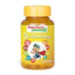 Acheter Nat&Form Junior Ours Gomme oursons 9 Vitamines B/60 à Trelissac