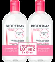 CREALINE TS H2O Solution micellaire sans parfum nettoyante apaisante 2Fl/500ml à Trelissac