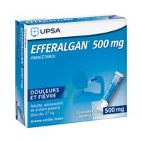 Efferalgan 500 mg Glé en sachet Sach/16 à Trelissac
