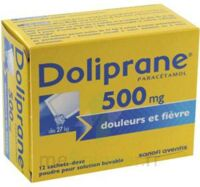 DOLIPRANE 500 mg Poudre pour solution buvable en sachet-dose B/12 à Trelissac
