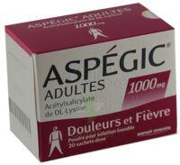 Aspegic Adultes 1000 Mg, Poudre Pour Solution Buvable En Sachet-dose 15 à Trelissac