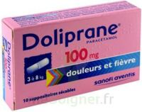 DOLIPRANE 100 mg Suppositoires sécables 2Plq/5 (10) à Trelissac