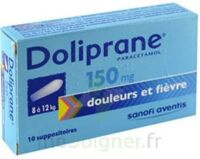 DOLIPRANE 150 mg Suppositoires 2Plq/5 (10) à Trelissac