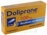Doliprane 200 Mg Suppositoires 2plq/5 (10) à Trelissac