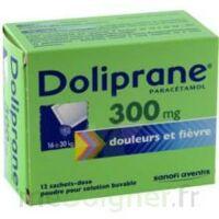 DOLIPRANE 300 mg Poudre pour solution buvable en sachet-dose B/12 à Trelissac