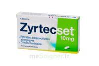 ZYRTECSET 10 mg, comprimé pelliculé sécable à Trelissac