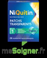 NIQUITIN 21 mg/24 heures, dispositif transdermique Sach/28 à Trelissac
