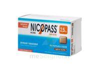 NICOPASS 2,5 mg Past réglisse menthe sans sucre Plq/96 à Trelissac