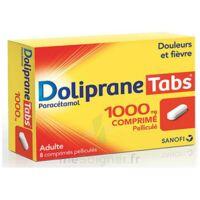 DOLIPRANETABS 1000 mg Comprimés pelliculés Plq/8 à Trelissac