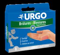 Urgo Brulures-blessures Petit Format X 6 à Trelissac