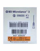 Bd Microlance 3, G25 5/8, 0,5 Mm X 16 Mm, Orange  à Trelissac