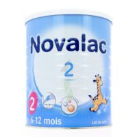 NOVALAC LAIT 2, 6-12 mois BOITE 800G à Trelissac