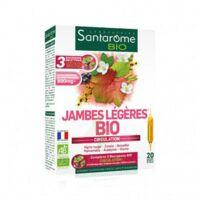 Santarome Bio Jambes légères Solution buvable 20 Ampoules/10ml à Trelissac