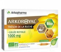 Arkoroyal Gelée royale bio 1000 mg Solution buvable 20 Ampoules/10ml à Trelissac