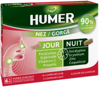 Humer Nez/gorge Jour&nuit 15 Comprimés à Trelissac
