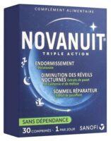 Novanuit Triple Action Comprimés B/30 à Trelissac