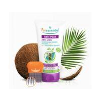 Puressentiel Anti-poux Shampooing masque traitant 2 en 1 Anti-Poux avec peigne - 150 ml à Trelissac