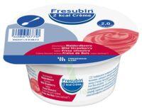 Fresubin 2kcal Crème sans lactose Nutriment fraise des bois 4 Pots/200g à Trelissac