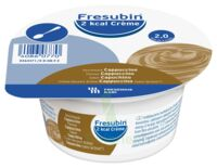 Fresubin 2kcal Crème sans lactose Nutriment cappuccino 4 Pots/200g à Trelissac