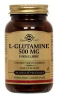 SOLGAR L-GLUTAMINE 500mg, 50 GEL VEG à Trelissac