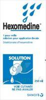 HEXOMEDINE 1 POUR MILLE S appl loc Fl/250ml à Trelissac