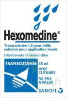 HEXOMEDINE TRANSCUTANEE 1,5 POUR MILLE, solution pour application locale à Trelissac