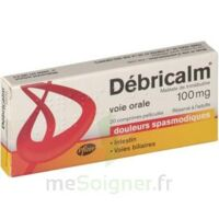 DEBRICALM 100 mg, comprimé pelliculé à Trelissac