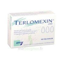 Terlomexin 200 Mg, Capsule Molle Vaginale à Trelissac