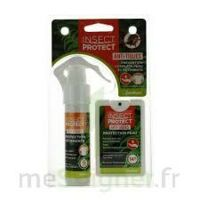 Insect Protect Spray Peau + Spray VÊtements Fl/18ml+fl/50ml à Trelissac