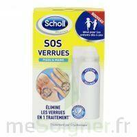 Scholl SOS Verrues traitement pieds et mains à Trelissac