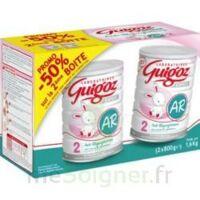 GUIGOZ LAIT EXPERT AR2 LOT DE 2X800GR à Trelissac