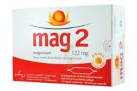 MAG 2 122 mg S buv en ampoule sans sucre édulcoré à la saccharine sodique 30Amp/10ml à Trelissac