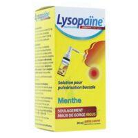 LysopaÏne Ambroxol 17,86 Mg/ml Solution Pour Pulvérisation Buccale Maux De Gorge Sans Sucre Menthe Fl/20ml à Trelissac