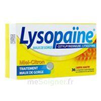LYSOPAÏNE MAUX DE GORGE CETYLPYRIDINIUM LYSOZYME MIEL CITRON SANS SUCRE, comprimé à sucer édulcoré au sorbitol et à la saccharine à Trelissac