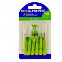 Crinex Phb Plus Brossette Inter-dentaire Micro B/6 à Trelissac