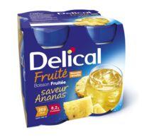 DELICAL BOISSON FRUITEE Nutriment ananas 4Bouteilles/200ml à Trelissac