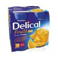 Delical Boisson Fruitee Nutriment Orange 4bouteilles/200ml à Trelissac