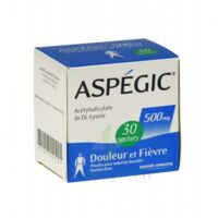 ASPEGIC 500 mg, poudre pour solution buvable en sachet-dose 30 à Trelissac