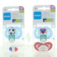 Mam Euro 2016 Sucette Silicone 18 Mois+ Foot B/2 à Trelissac