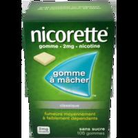 NICORETTE 2 mg Gom à mâcher médic sans sucre menthe fraîche Plq/105gom à Trelissac