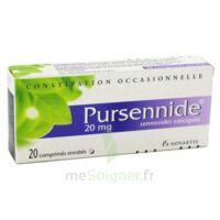 Pursennide 20 Mg, Comprimé Enrobé à Trelissac