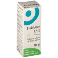 FLUIDABAK 1,5 %, collyre en solution à Trelissac