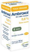 AMBROXOL EG LABO CONSEIL 0,6 %, solution buvable à Trelissac