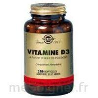 Solgar Vitamine D3 400 UI Softgels GM à Trelissac