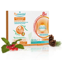 Puressentiel Articulations et Muscles Patch chauffant bas du dos 14 huiles essentielles à Trelissac