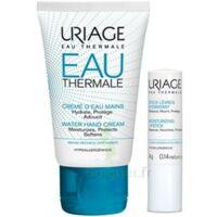Uriage Eau Thermale Crème d'eau mains T/30ml+Stick lèvres à Trelissac