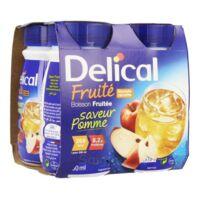 Delical Boisson Fruitee Nutriment Pomme 4bouteilles/200ml à Trelissac