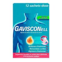 GAVISCONELL Suspension buvable sachet-dose menthe sans sucre 12Sach/10ml à Trelissac